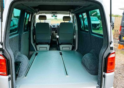 VW T5 T6 rails, seats and beds for sale