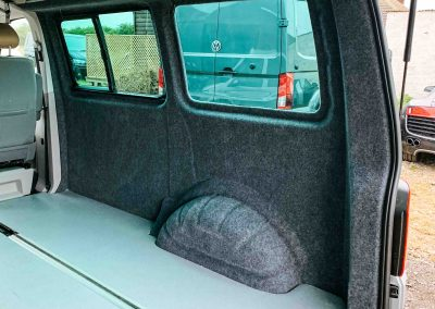 VW T5 T6 rails, seats and beds fitting