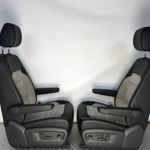 VW T6 T5 Caravelle Heated Leather Alcantara Seats for sale