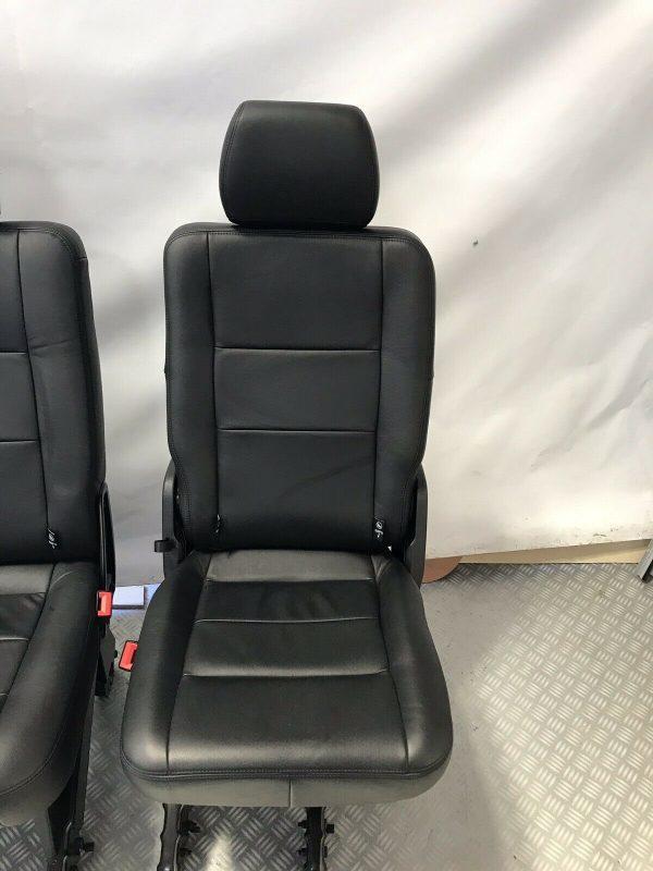 VW T6 T5 Leather Rear Kombi Seats