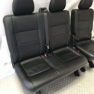 VW T6 T5 Leather Rear Kombi Seats for sale